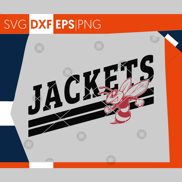 Jackets SVG, Football SVG, Jackets T-shirt Design, Jackets Baseball, Hornets Basketball, Cricut Cut Files, Silhouette Cut File, SVG Cut File