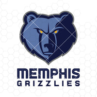 Memphis Grizzlies Digital Cut Files Svg, Dxf, Eps, Png, Cricut Vector, Digital Cut Files Download