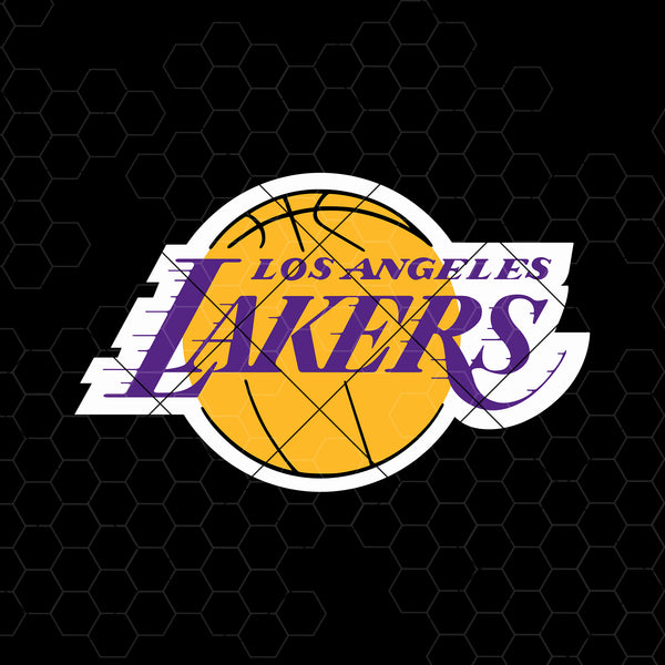 Los Angeles Lakers Digital Cut Files Svg, Dxf, Eps, Png, Cricut Vector, Digital Cut Files Download