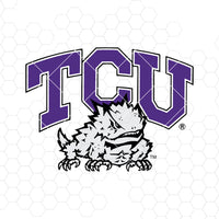 TCU Digital Cut Files Svg, Dxf, Eps, Png, Cricut Vector, Digital Cut Files Download