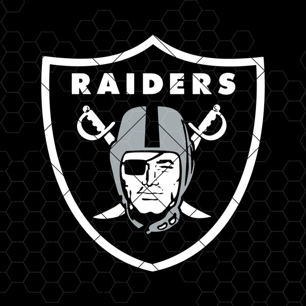 Oakland Raiders Digital Cut Files Svg, Dxf, Eps, Png, Cricut Vector, Digital Cut Files Download