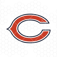 Chicago Bears Digital Cut Files Svg, Dxf, Eps, Png, Cricut Vector, Digital Cut Files Download