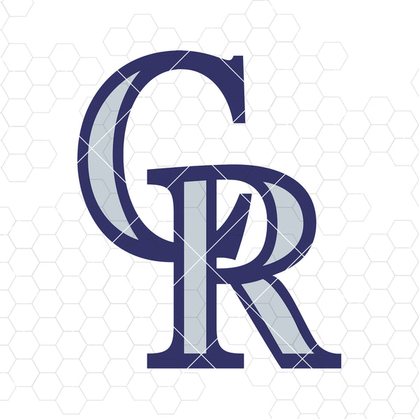 Colorado Rockies Digital Cut Files Svg, Dxf, Eps, Png, Cricut Vector, Digital Cut Files Download