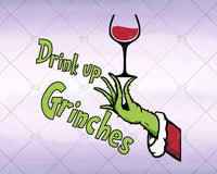 Drink Up Grinches Svg, Instant Download - Doranstars