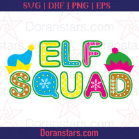 Elf Squad - Free SVG, Instant Download - Doranstars