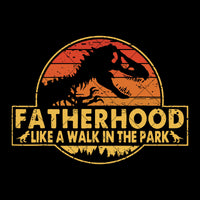 FA014 Jurassic Park - Fatherhood Like A Walk In The Park Digital Cut Files Svg, Dxf, Eps, Png, Cricut Vector, Digital Cut Files Download