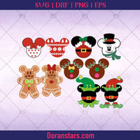 Gingerbread svg, Moose svg, Reindeer Christmas svg Instant Download - Doranstars