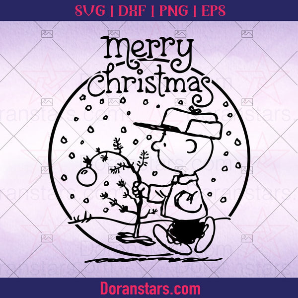 Inspired by Charlie Brown SVG Digital Cut File Nativity, Christmas svg Cricut Cut File Instant Download - Doranstars