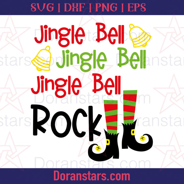 Jingle Bell Rock - Free SVG, Instant Download - Doranstars