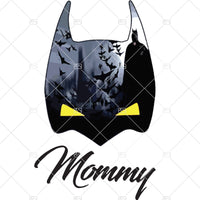 Mommy,Bat mask, Halloween Hero Digital Cut Files Svg, Dxf, Eps, Png, Cricut Vector, Digital Cut Files Download