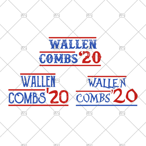 Morgan Wallen and Luke Combs 2020 Instant Download PNG/SVG/PDF/Eps files | Png for sublimation