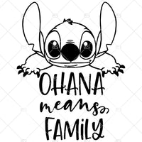 Ohana means family svg, Lilo and Stitch SVG, Stitch SVG, Lilo svg, Disney SVG, Stitch cut file, Disney cut file, Disney quote svg
