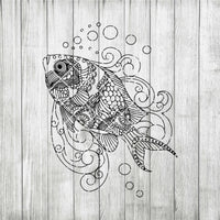 Fish Mandala svg, Zentangle Fish svg, Intricate svg File, Cricut Design svg, Mandala Animals cut files Digital