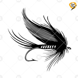 Fly Fishing-Insects Artificial Lure Digital Cut Files Svg, Dxf, Eps, Png, Cricut Vector, Digital Cut Files Download