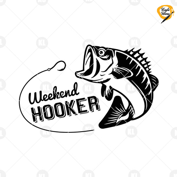 Weekend Hooker Digital Cut Files Svg, Dxf, Eps, Png, Cricut Vector, Digital Cut Files Download