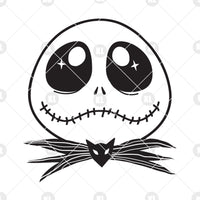 Jack Skellington/ Disney Nightmare Before Christmas Digital Cut Files Svg, Dxf, Eps, Png, Cricut Vector, Digital Cut Files Download