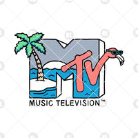 MTV-Music Television Digital Cut Files Svg, Dxf, Eps, Png, Cricut Vector, Digital Cut Files Download