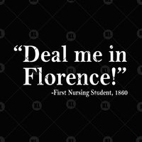 Deal Me In Florence Digital Cut Files Svg, Dxf, Eps, Png, Cricut Vector, Digital Cut Files Download