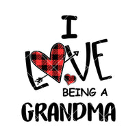 I Love Being A Grandma Digital Cut Files Svg, Dxf, Eps, Png, Cricut Vector, Digital Cut Files Download