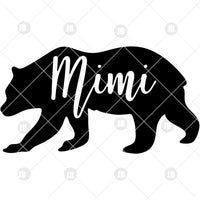 Mimi Digital Cut Files Svg, Dxf, Eps, Png, Cricut Vector, Digital Cut Files Download