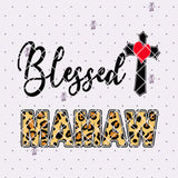 Blessed Mamaw Digital Cut Files Svg, Dxf, Eps, Png, Cricut Vector, Digital Cut Files Download