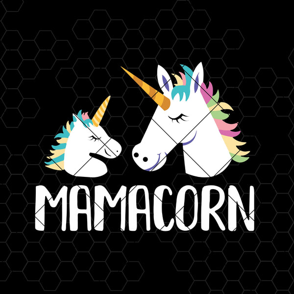 MamaCorn Digital Cut Files Svg, Dxf, Eps, Png, Cricut Vector, Digital Cut Files Download