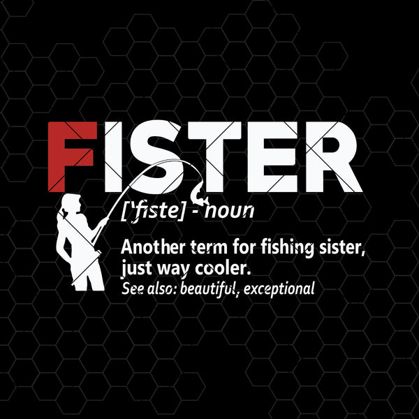 Fister Digital Cut Files Svg, Dxf, Eps, Png, Cricut Vector, Digital Cut Files Download