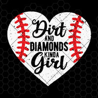 Dirt And Diamonds Kinda Girl Digital Cut Files Svg, Dxf, Eps, Png, Cricut Vector, Digital Cut Files Download