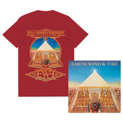 ALL 'N ALL 40TH ANNIVERSARY - GOLD VINYL LP + RED UNISEX TEE BUNDLE