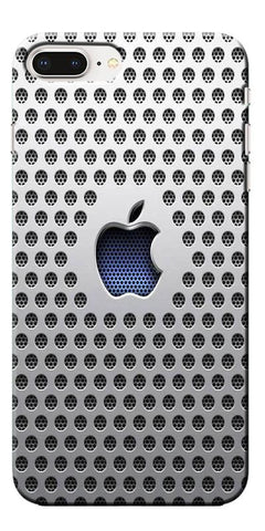 Digiprints Apple Logo Creative Designe Printed Designer Back Case Cover For Apple iPhone 8 Plus