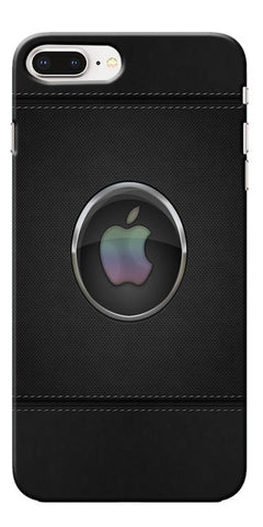 Digiprints Colorful Dots Apple Logo Printed Designer Back Case Cover For Apple iPhone 8 Plus
