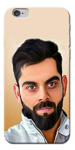 Digiprints Virat Kholi Art Printed Designer Back Case Cover For Apple iPhone 6