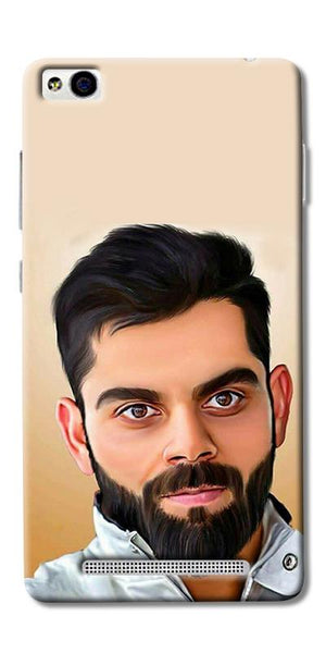 Digiprints Virat Kholi Art Printed Designer Back Case Cover For Xiaomi Redmi 3S