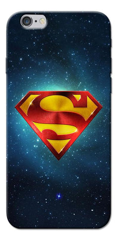 Digiprints Superman Designe Art Printed Designer Back Case Cover For Apple iPhone 6