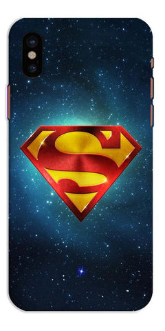Digiprints Superman Designe Art Printed Designer Back Case Cover For Apple iPhone X