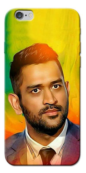 Digiprints Ms Dhoni Fan Printed Designer Back Case Cover For Apple iPhone 6