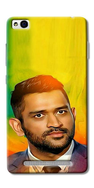 Digiprints Ms Dhoni Fan Printed Designer Back Case Cover For Xiaomi Redmi 3S