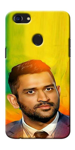 Digiprints Ms Dhoni Fan Printed Designer Back Case Cover For Oppo F5