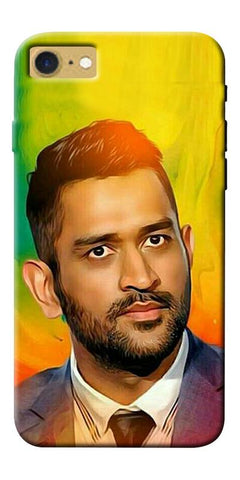 Digiprints Ms Dhoni Fan Printed Designer Back Case Cover For Apple iPhone 7