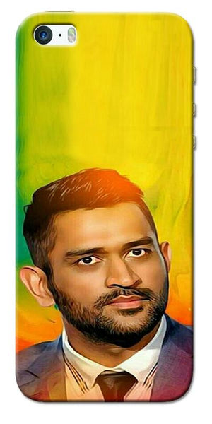 Digiprints Ms Dhoni Fan Printed Designer Back Case Cover For Apple iPhone 5