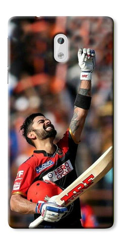 Digiprints Virat Kohli Printed Designer Back Case Cover For Nokia 3
