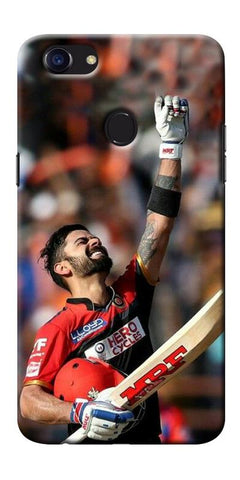 Digiprints Virat Kohli Printed Designer Back Case Cover For Oppo F5