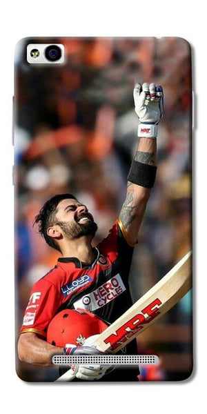 Digiprints Virat Kohli Printed Designer Back Case Cover For Xiaomi Redmi 3S