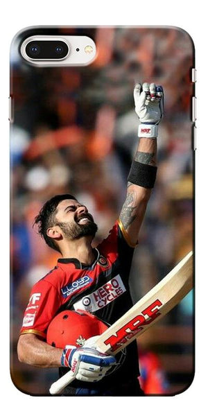 Digiprints Virat Kohli Printed Designer Back Case Cover For Apple iPhone 8 Plus