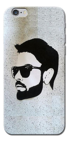 Digiprints Virat Kohli Face Art Printed Designer Back Case Cover For Apple iPhone 6