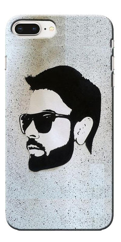 Digiprints Virat Kohli Face Art Printed Designer Back Case Cover For Apple iPhone 8 Plus