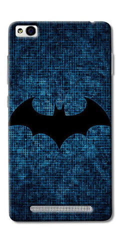 Digiprints Batman Logo Designe Printed Designer Back Case Cover For Xiaomi Redmi 3S