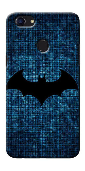 Digiprints Batman Logo Designe Printed Designer Back Case Cover For Oppo F5