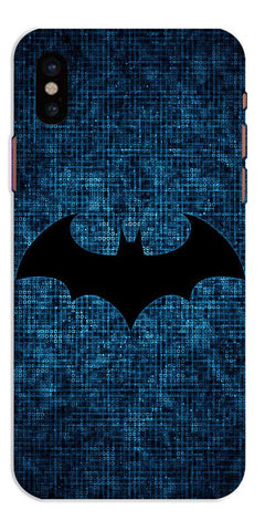 Digiprints Batman Logo Designe Printed Designer Back Case Cover For Apple iPhone X