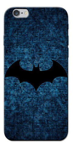 Digiprints Batman Logo Designe Printed Designer Back Case Cover For Apple iPhone 6